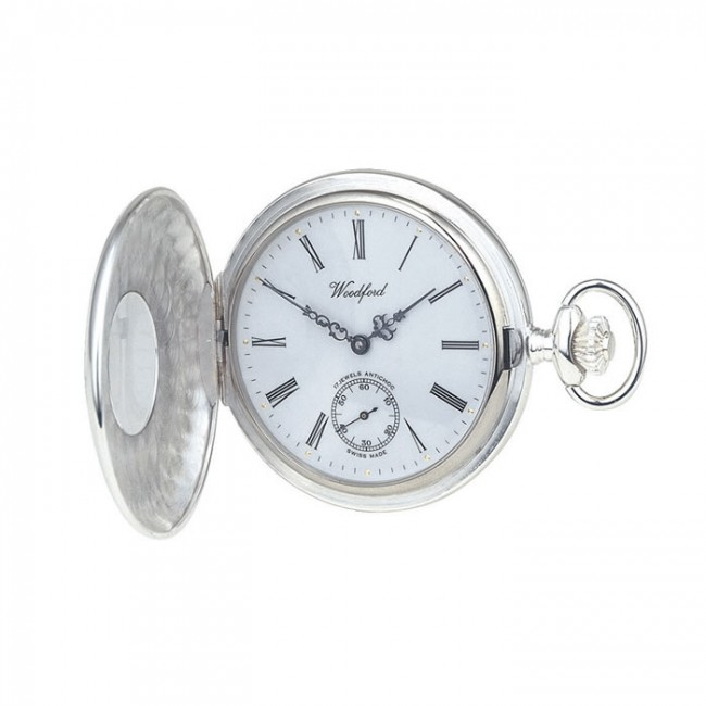 sterling silver swiss unitas style movement pocket