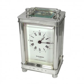 Sterling Silver Carriage Clock