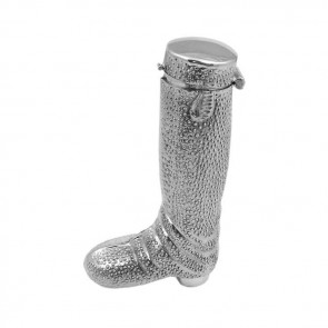 Sterling Silver Riding Boot Toothpick Or Matchstick Holder
