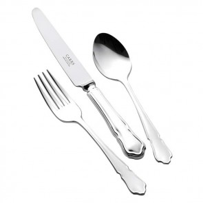 Silver Plated Childs Cutlery Set Dubarry