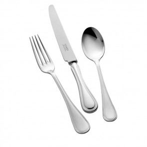 Sterling Silver Childs Cutlery Set English Thread