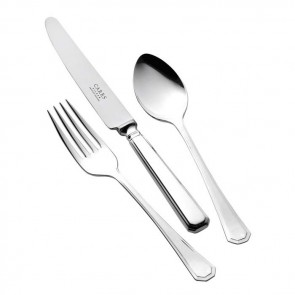 Silver Plated Childs Cutlery Set Grecian