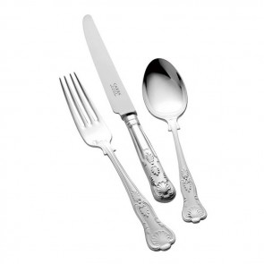 Silver Plated Childs Cutlery Set Kings