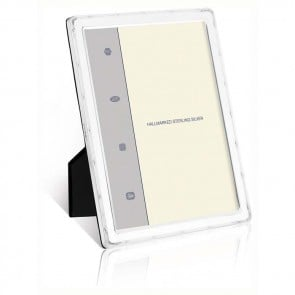 Reed And Ribbon Flat 15x10 Cm - 6x4 Inch Classic Photo Frame