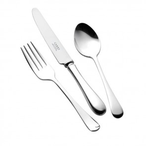 Silver Plated Childs Cutlery Set Old English