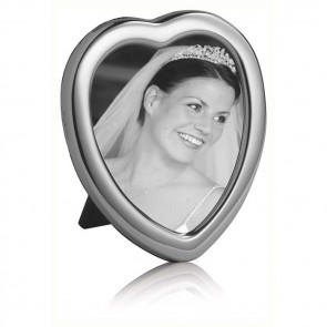 Plain 8x6 Cm Heart Classic Photo Frame