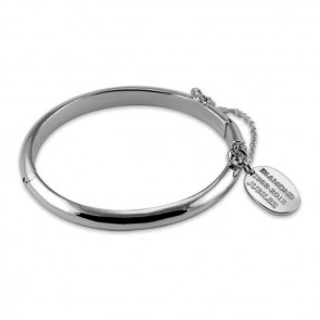 Plated Sterling Silver Queens Jubilee Tagged Babies Bangle