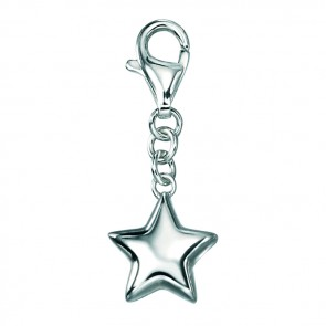 Sterling Silver Plain Star Charm