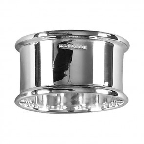 Sterling Silver Simple Napkin Ring