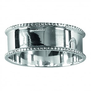 Sterling Silver Round Napkin Ring