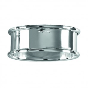 Sterling Silver Simple Oval Napkin Ring