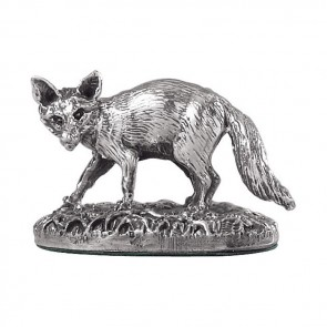 Sterling Silver Fox shaped Sculpture