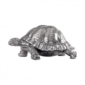 Sterling Silver Tortoise Sculpture