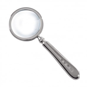 Sterling Silver Simple Magnifying Glass