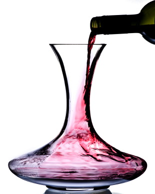 Decanting Red Wine