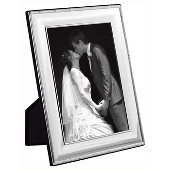 Reed And Ribbon Wide Convex 9x6 Cm Classic Photo Frame
