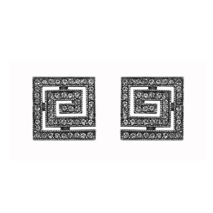 Sterling Silver Cubic Zirconia Style Earrings