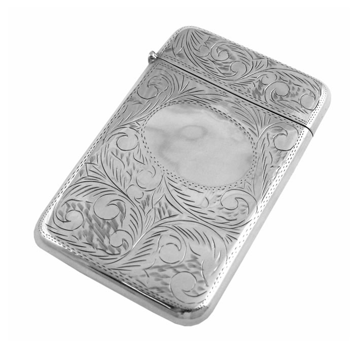 Silver Business Card Holders | Silvergroves.co.uk