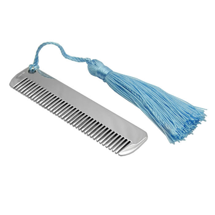 Sterling Silver Child's Comb