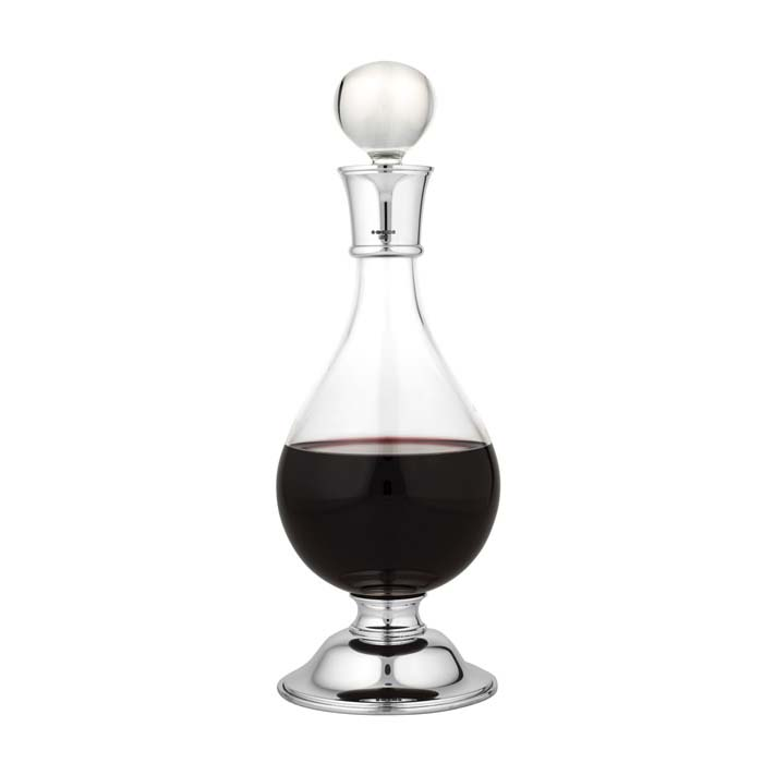 Footed Wine Carafe