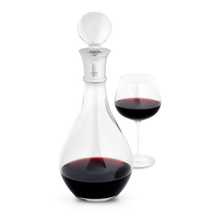 Plain Crystal Wine Carafe 90cl