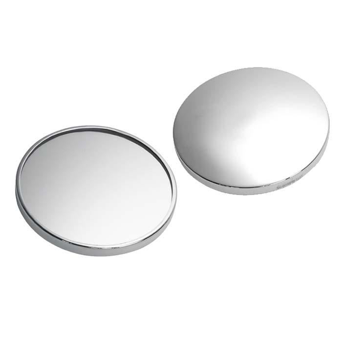 Sterling Silver Handbag Mirror Plain