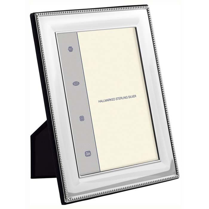 Simple Bead Wide Convex 9x6 Cm Classic Photo Frame