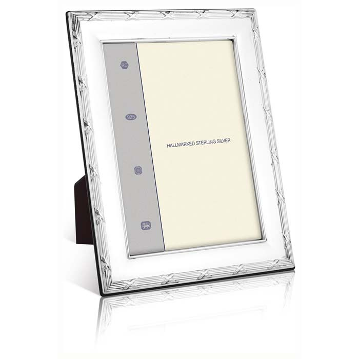 Louis Xiv Reed And Ribbon 25x20 Cm - 10x8 Inch Classic Style Photo Frame