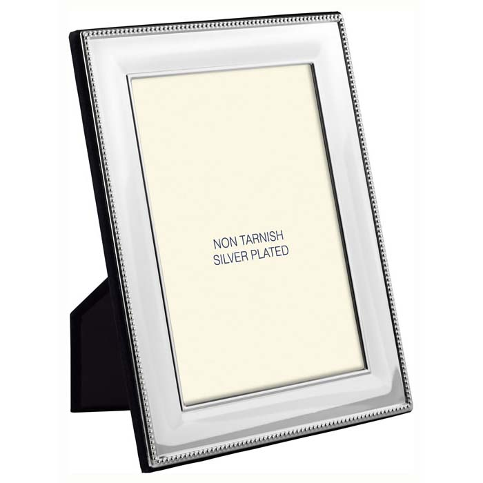 Simple Bead Border 18X13 cm - 7X5 Inch Classic Photo Frame