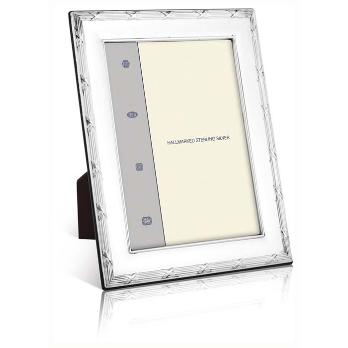 Louis Xiv Reed And Ribbon 18x13 Cm - 7x5 Inch Classic Style Photo Frame