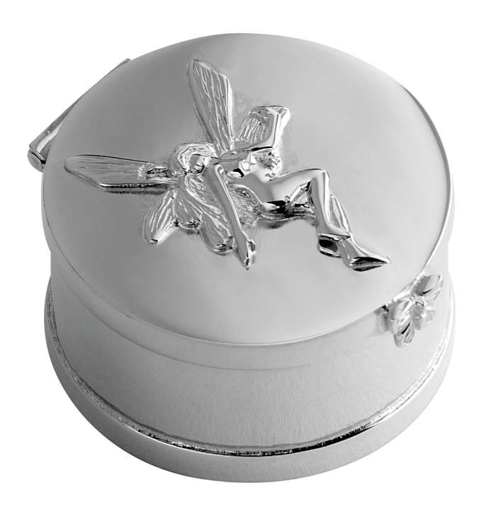 Sterling Silver Fairy Keepsake Box