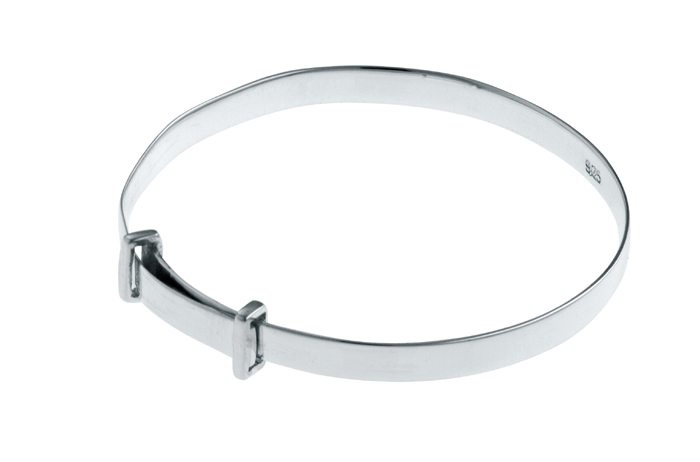 Plain Adjustable Baby Bangle