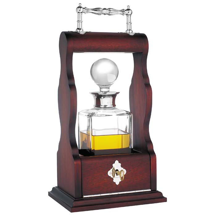 Single Tantalus Decanter Mahogany
