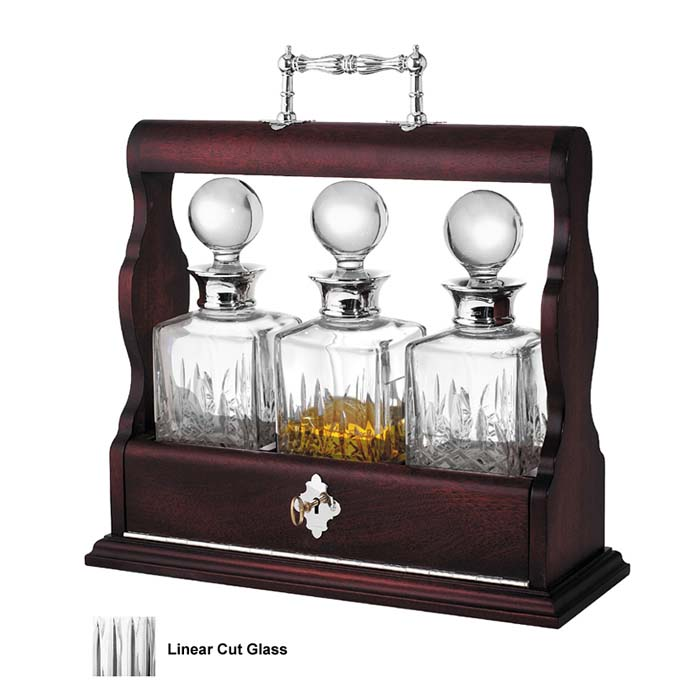 Triple Oak Tantalus Decanter