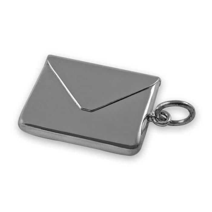Sterling Silver Envelope Stamp Box