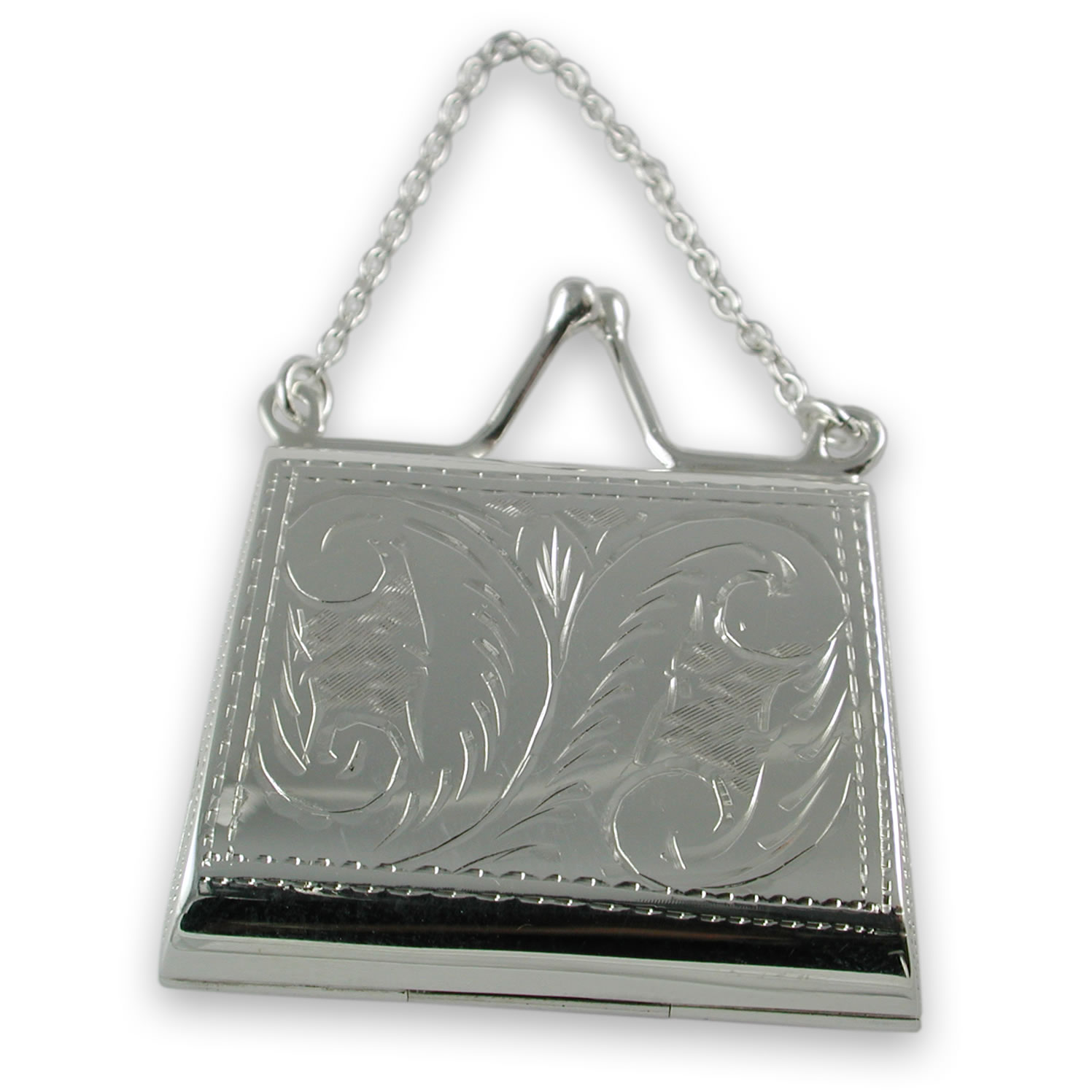Sterling Silver Purse Pill Box
