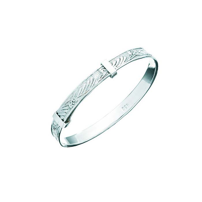 Sterling Silver Baby Bangle