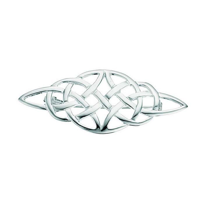 Sterling Silver Celtic Style Brooch