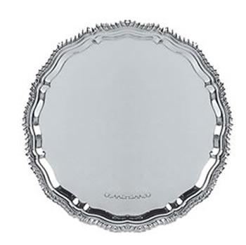 Sterling Silver 10 Inch 573 Gram Salver