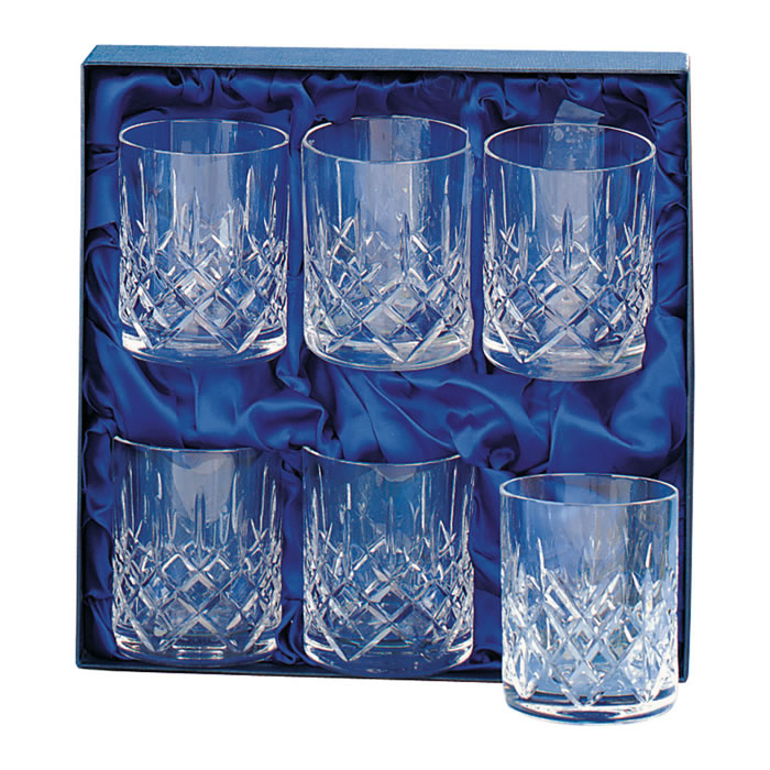 Crystal Whisky Rummers