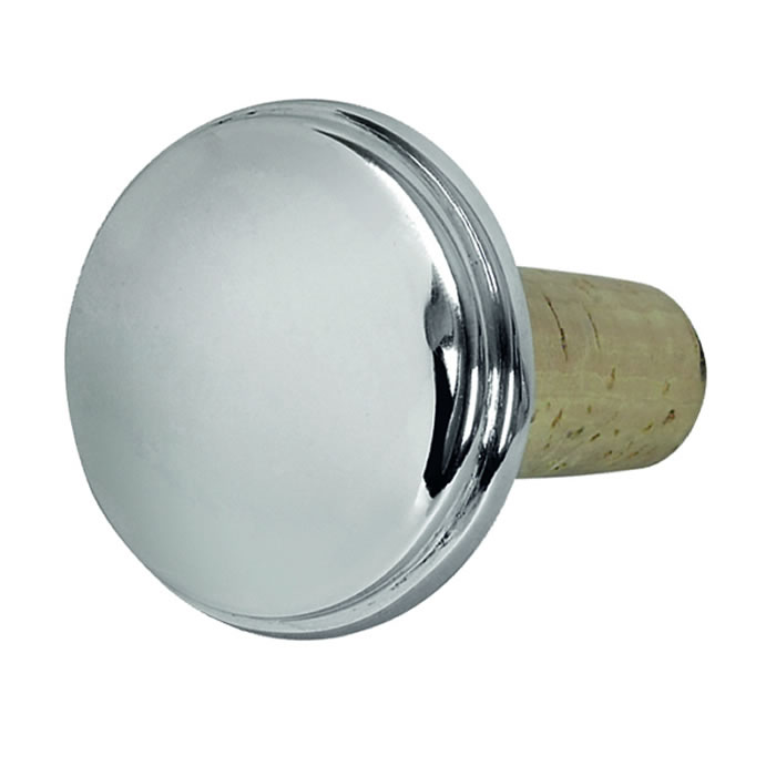 Sterling Silver Plain Bottle Cork
