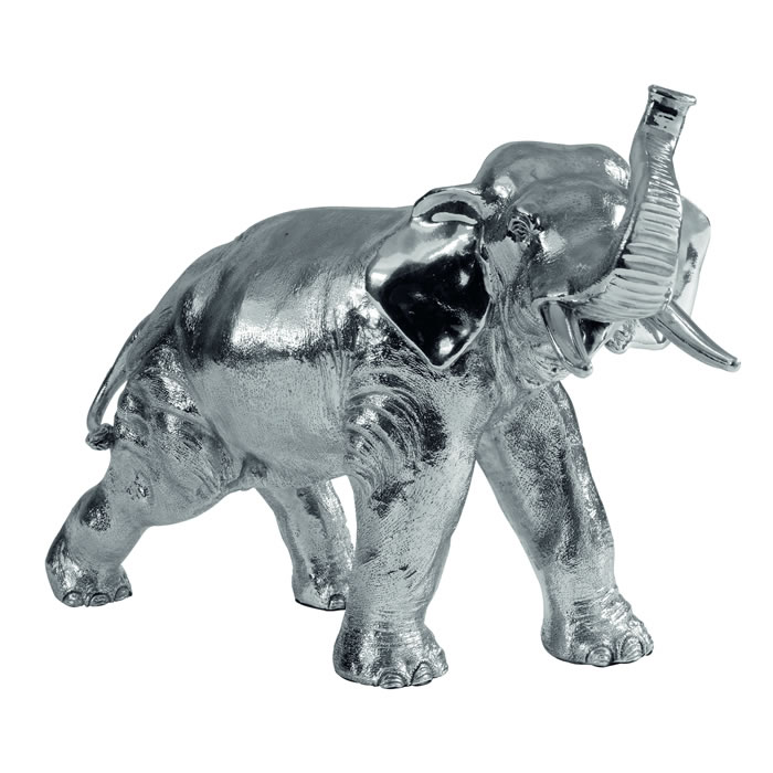 Sterling Silver Elephant Style Sculpture