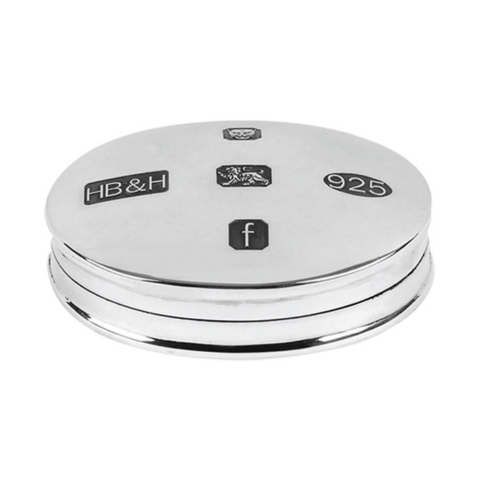 Sterling Silver Hallmarked Pill Box