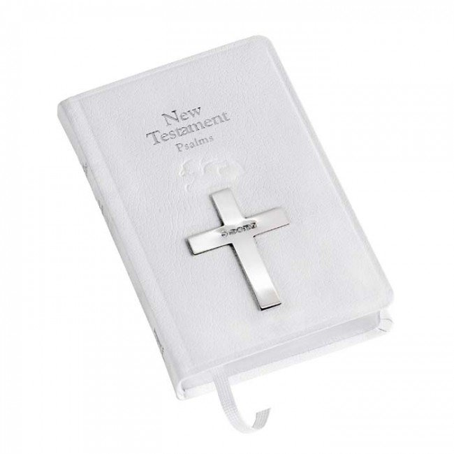 Baby Bible New Testament In White