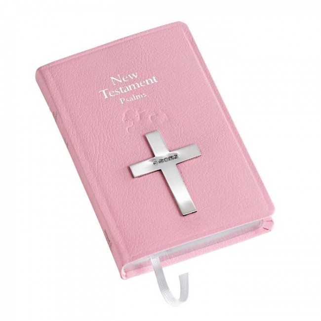 Baby Bible New Testament In Pink