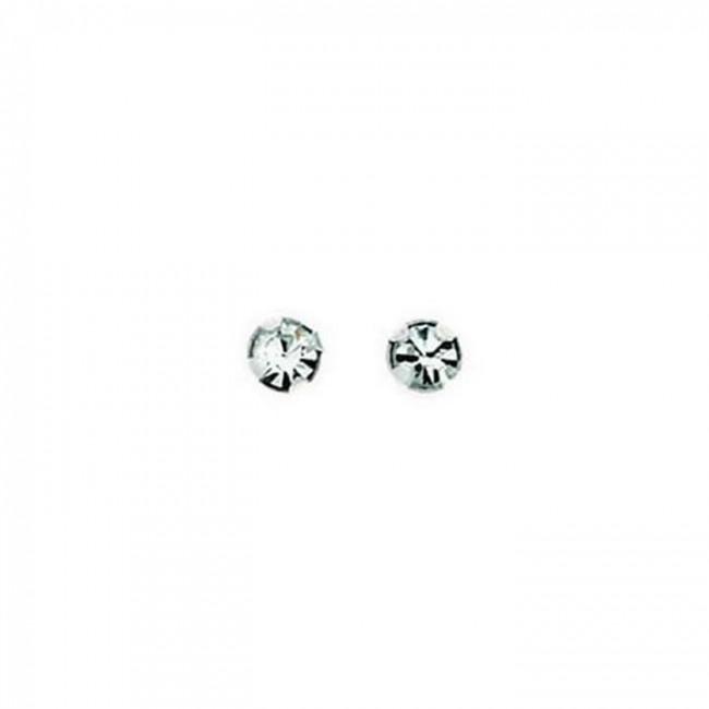 f19aab39e Sterling Silver Diamanté Stud Earrings. SKU: GEK_A125C. £3.45