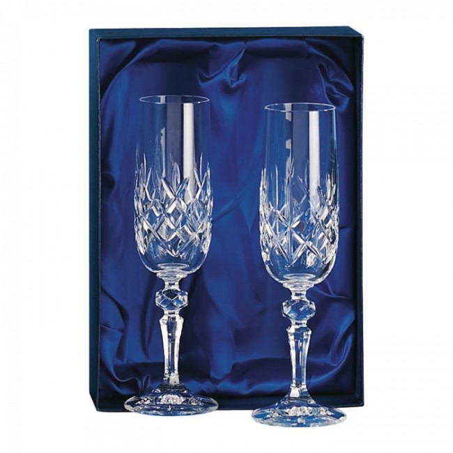 Crystal Champagne Glass Set