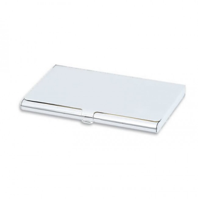 Plated plain business card holder silver plated plain business card holder reheart Images
