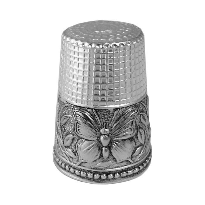 Sterling Silver Butterfly Thimble