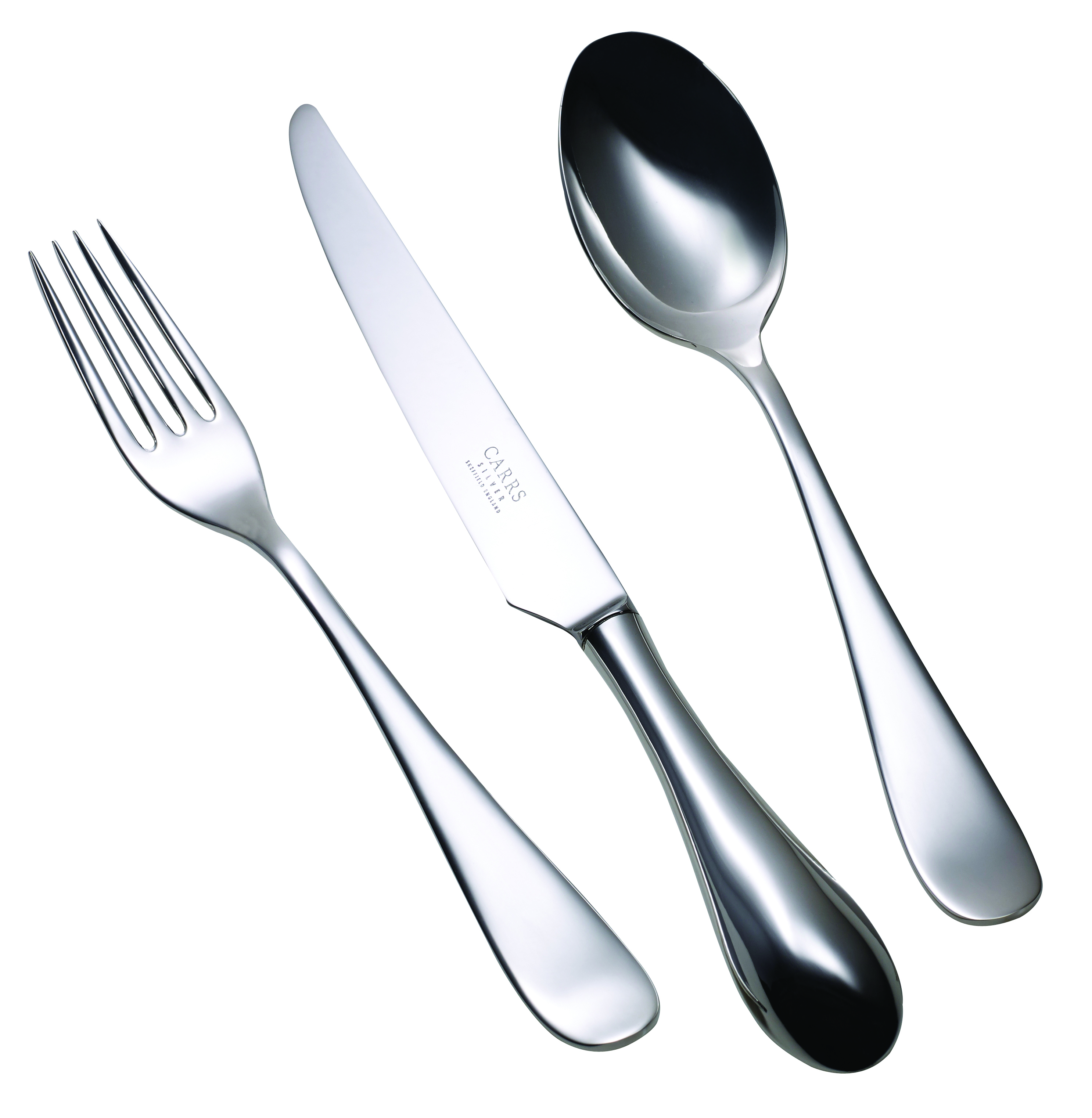 Children's Silver Cutlery Set Vision Design